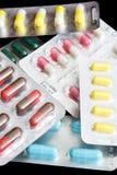 χάπια που τίθενται Στοκ φωτογραφίες με δικαίωμα ελεύθερης χρήσης