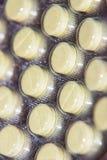 Χάπια σε ένα πακέτο φουσκαλών Στοκ εικόνα με δικαίωμα ελεύθερης χρήσης