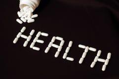 χάπια υγείας Στοκ φωτογραφία με δικαίωμα ελεύθερης χρήσης