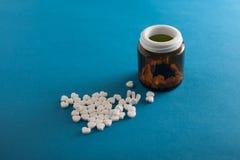 Χάπια ως καρδιά Στοκ Φωτογραφία