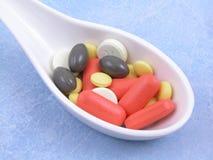 χάπια διάφορα Στοκ Εικόνες