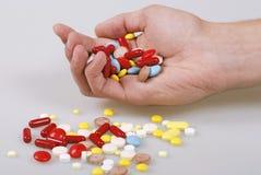 χάπια batch Στοκ φωτογραφία με δικαίωμα ελεύθερης χρήσης