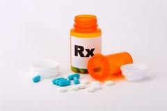 χάπια perscription Στοκ φωτογραφία με δικαίωμα ελεύθερης χρήσης