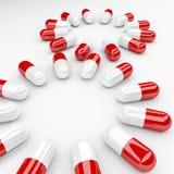 χάπι ανασκόπησης Στοκ Φωτογραφίες