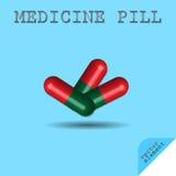 Χάπι ιατρικής Στοκ φωτογραφίες με δικαίωμα ελεύθερης χρήσης