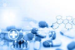 Χάπι με τα μόρια ελεύθερη απεικόνιση δικαιώματος