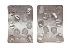 χάπι συσκευασιών Στοκ φωτογραφίες με δικαίωμα ελεύθερης χρήσης