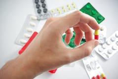 χάπι χεριών Στοκ Φωτογραφίες
