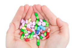 χάπι χεριών Στοκ φωτογραφία με δικαίωμα ελεύθερης χρήσης