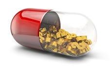 χάπι δολαρίων Στοκ εικόνα με δικαίωμα ελεύθερης χρήσης