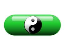 Χάπι Yang Yin στοκ εικόνα με δικαίωμα ελεύθερης χρήσης