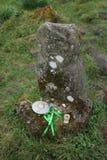 Χάραξη βράχου δίπλα στον Ιανό Stone Στοκ Φωτογραφία