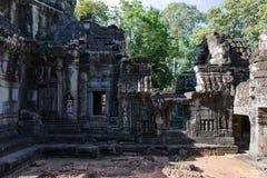 Χάραξη στο ναό Banteay Kdei Στοκ Φωτογραφία