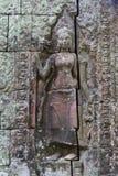 Χάραξη στο templea Banteay Kdei Στοκ φωτογραφίες με δικαίωμα ελεύθερης χρήσης