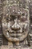 Χάραξη τοίχων στο ναό Prasat Bayon σε Angkor Thom, Καμπότζη Στοκ Φωτογραφίες
