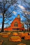 Χάρβαρντ τετραγωνικές ΗΠΑ Στοκ φωτογραφία με δικαίωμα ελεύθερης χρήσης