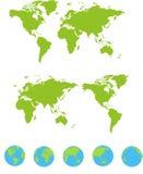 χάρτες που τίθενται απεικόνιση αποθεμάτων