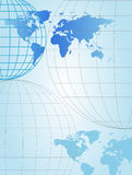 χάρτες σφαιρών Στοκ εικόνα με δικαίωμα ελεύθερης χρήσης
