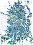 Χάρτης Άγιος Πετρούπολη, Ρωσία ελεύθερη απεικόνιση δικαιώματος