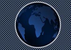 Χάρτης αναφοράς του κόσμου επίσης corel σύρετε το διάνυσμα απεικόνισης 10 eps Σχεδιάγραμμα για τη δημιουργία των φρέσκων παγκόσμι Στοκ Εικόνες