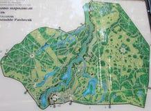 Χάρτης εκτάσεων Στοκ Εικόνες
