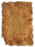 Χάρτης θησαυρών Στοκ εικόνες με δικαίωμα ελεύθερης χρήσης