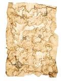 Χάρτης θησαυρών στοκ φωτογραφία