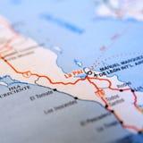 χάρτης Λα paz Στοκ φωτογραφίες με δικαίωμα ελεύθερης χρήσης
