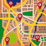 Χάρτης ναυσιπλοΐας Στοκ φωτογραφίες με δικαίωμα ελεύθερης χρήσης