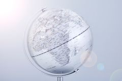 Χάρτης παγκόσμιων σφαιρών Στοκ Εικόνες