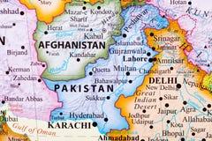 χάρτης Πακιστάν απεικόνιση αποθεμάτων