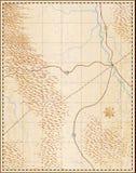 χάρτης παλαιός Στοκ Φωτογραφίες