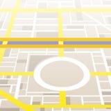 Χάρτης πόλεων ελεύθερη απεικόνιση δικαιώματος