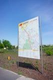 Χάρτης πληροφοριών Στοκ εικόνα με δικαίωμα ελεύθερης χρήσης