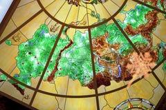 χάρτης Ρωσία Στοκ φωτογραφία με δικαίωμα ελεύθερης χρήσης