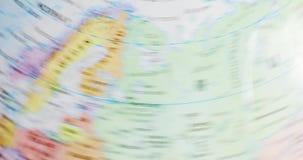 Χάρτης της Σουηδίας και της Φινλανδίας απόθεμα βίντεο