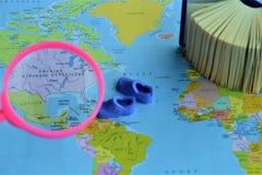 Χάρτης του κόσμου στοκ εικόνες με δικαίωμα ελεύθερης χρήσης