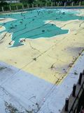χάρτης του Μπαγκλαντές Στοκ Φωτογραφία