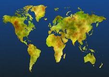 χάρτης χρώματος Στοκ Εικόνες