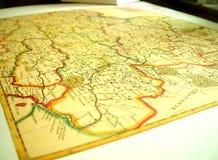 χάρτης Στοκ Εικόνες