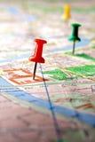 Χάρτης Στοκ φωτογραφία με δικαίωμα ελεύθερης χρήσης