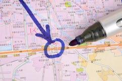 Χάρτης στοκ εικόνα με δικαίωμα ελεύθερης χρήσης