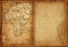 χάρτης 33 Αφρική ελεύθερη απεικόνιση δικαιώματος