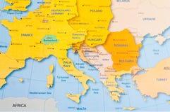 χάρτης Στοκ Φωτογραφία