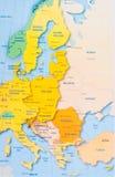 χάρτης Στοκ Φωτογραφίες