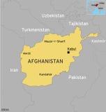 Χάρτης Afganistan ελεύθερη απεικόνιση δικαιώματος
