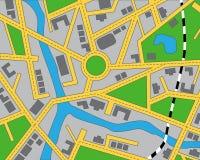Χάρτης Editable της περιοχής ελεύθερη απεικόνιση δικαιώματος