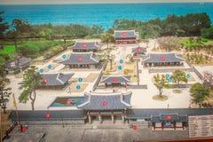 Χάρτης Jeju Mokgwana, η παλαιότερη παραμονή που ενσωματώνει Jeju στοκ εικόνα με δικαίωμα ελεύθερης χρήσης
