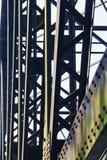 Χάλυβας βασισμένος στη σύνδεση της γέφυρας σιδηροδρόμων Στοκ φωτογραφία με δικαίωμα ελεύθερης χρήσης