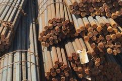 Χάλυβας κατασκευής Στοκ φωτογραφία με δικαίωμα ελεύθερης χρήσης